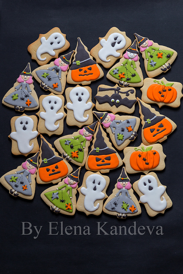Halloween and Horror Cookies /icing/