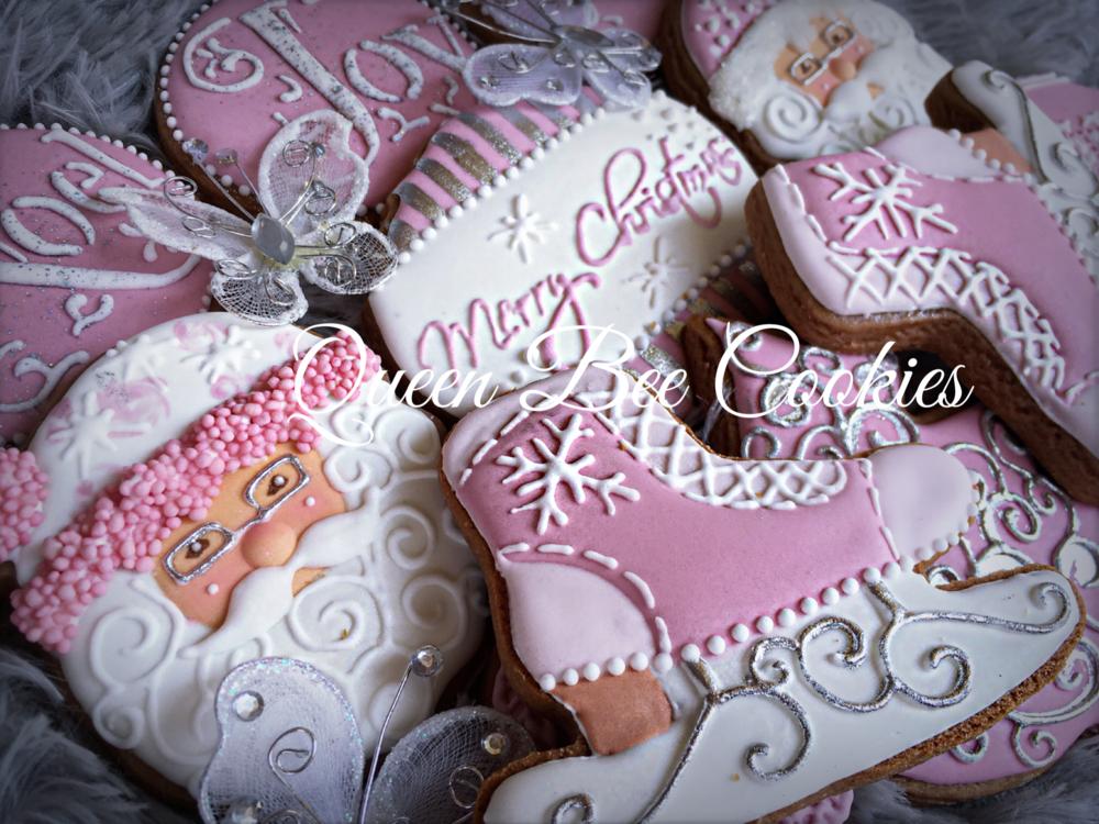 Cold Pink Christmas set