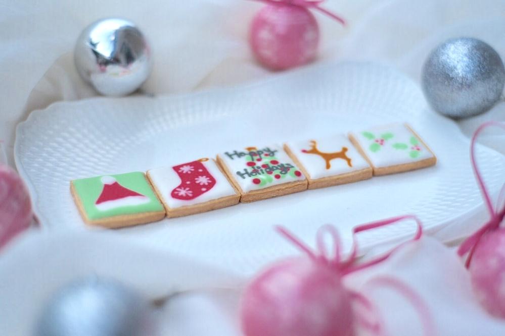 ウエットオンウエットのクリスマスクッキーセット