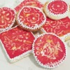 Wet-on-Wet Batik Cookies by Kanch J