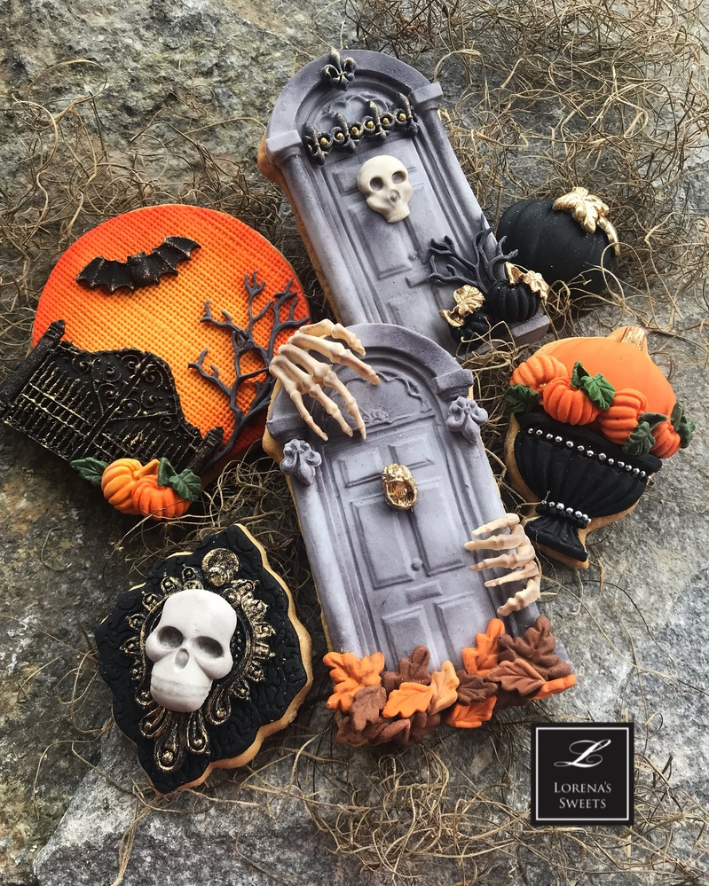 Lorena Rodríguez. Halloween cookies