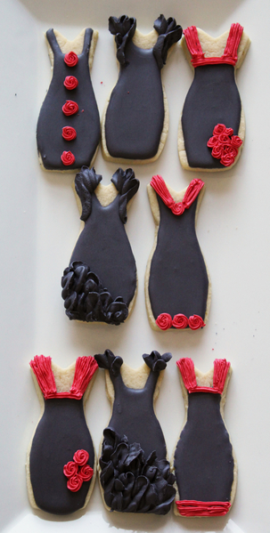 Final Black and Red Dresses