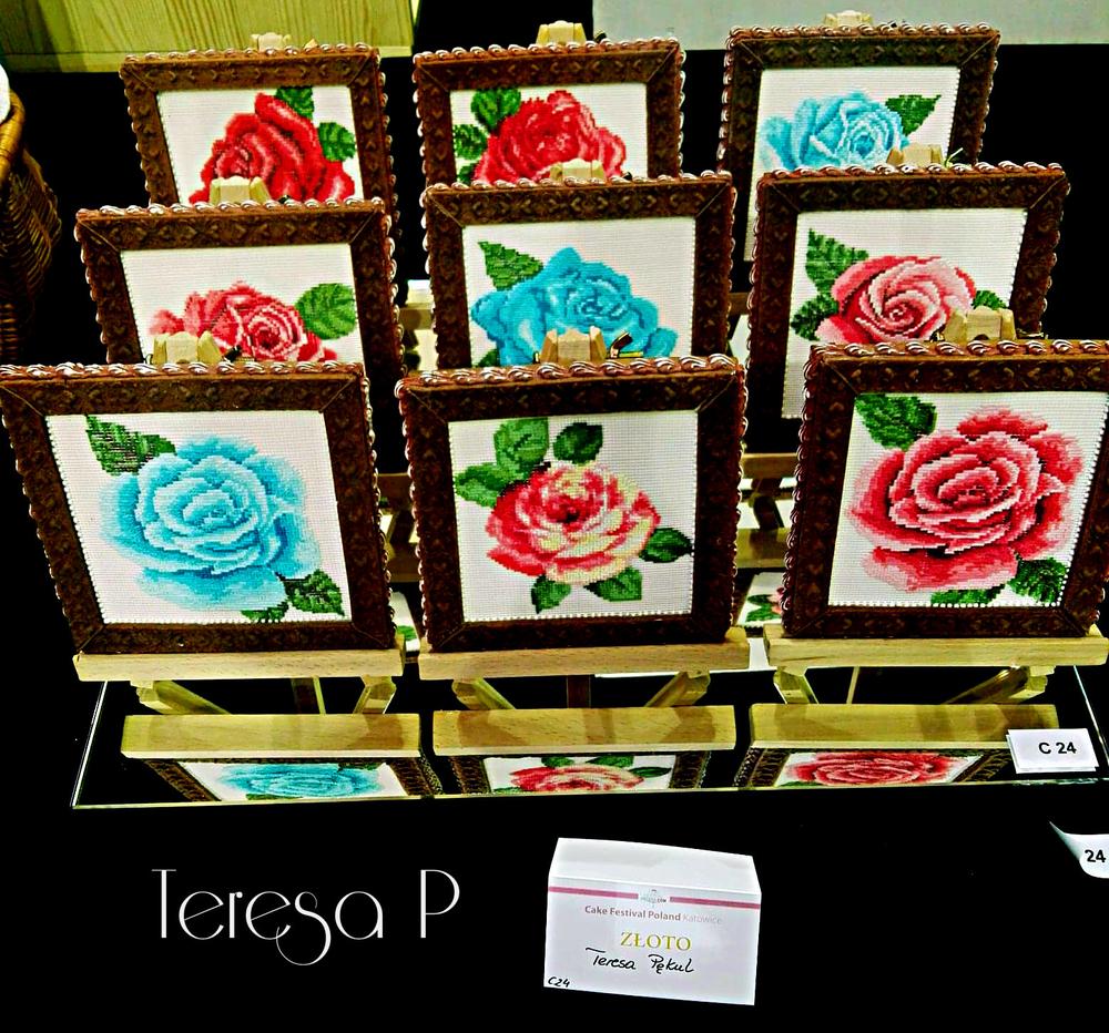 Obrazy róż