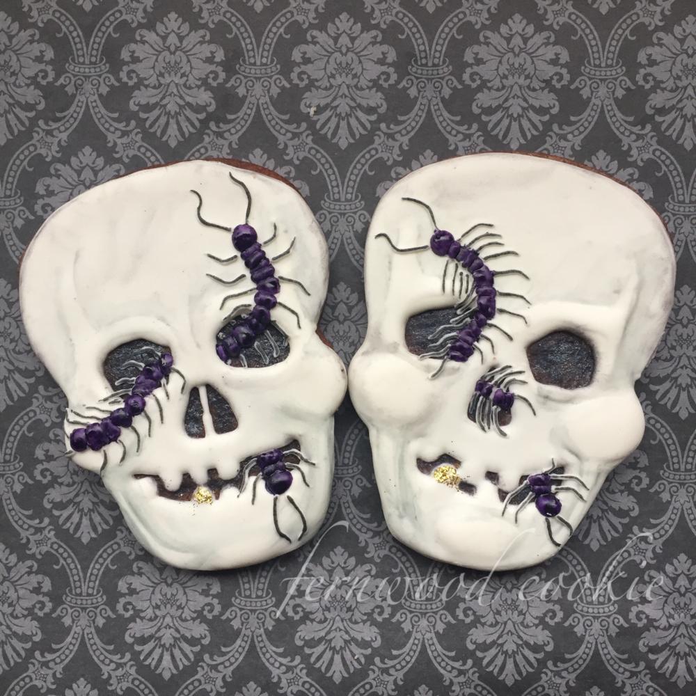 Creepy Crawly Skulls