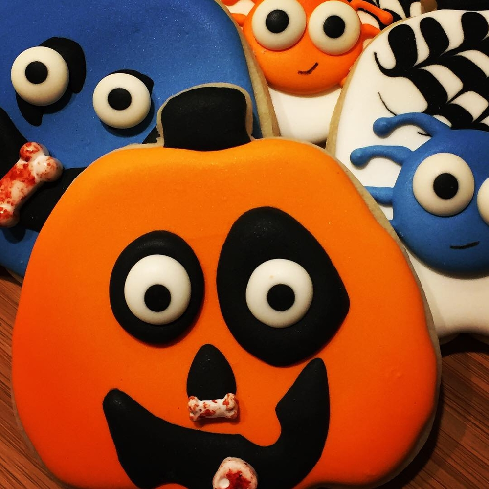 Silly Halloween Cookies ....