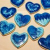 Wet-on-Wet Heart Cookies