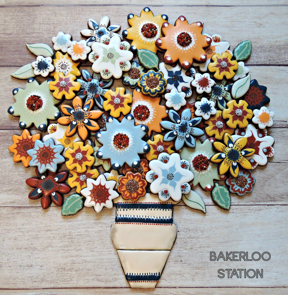 50th Birthday Bouquet | Bakerloo Station