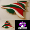 Christmas Tree Sugar Cookie by GoBakeItUp