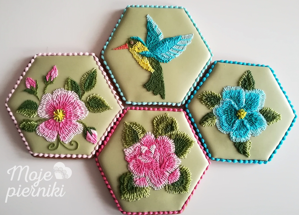 Embroidered with Icing