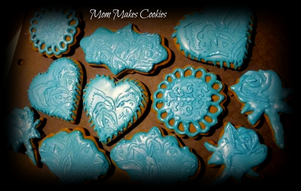 Boho Blue Valentine!
