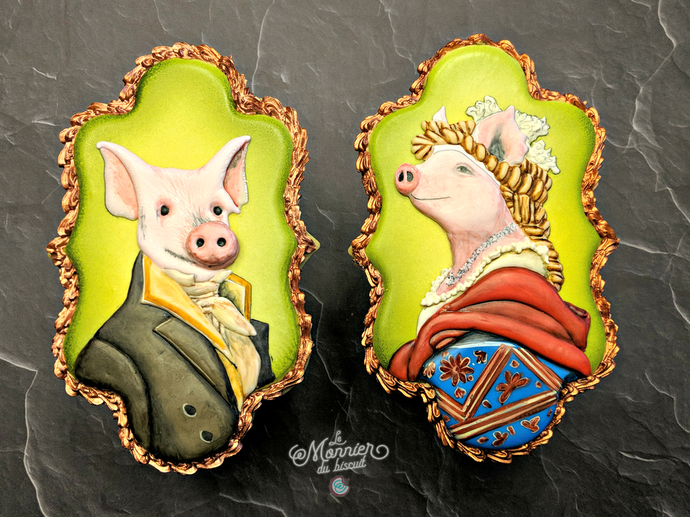 Mr and Mrs Pig