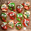Happy Christmas owls