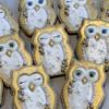 Christmas themed owls