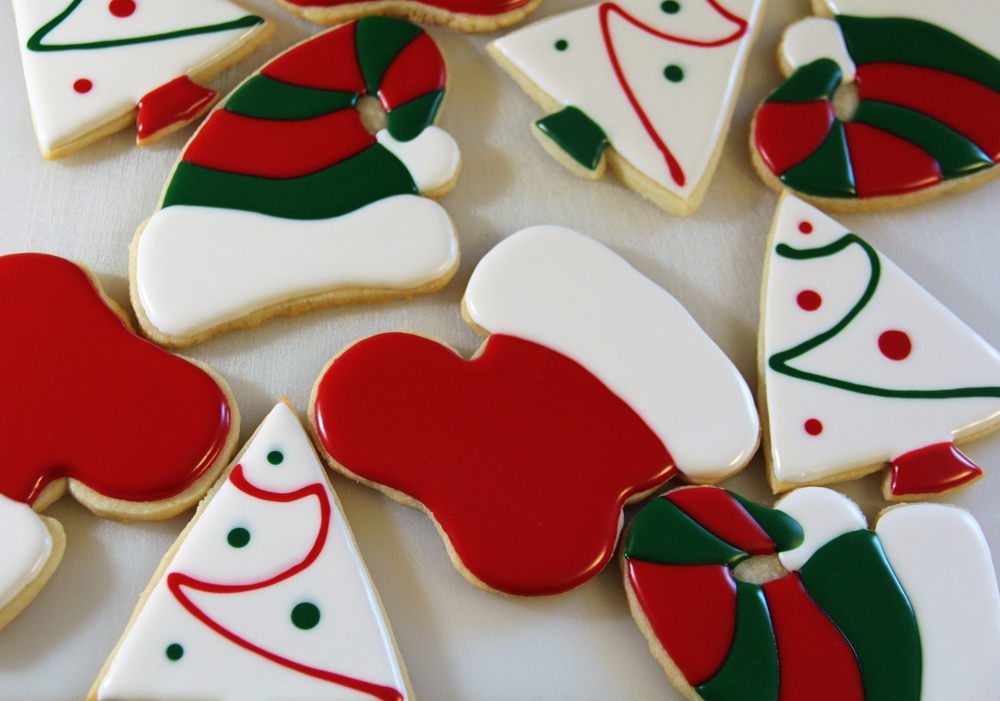 Assortment of Christmas Sugar Cookies