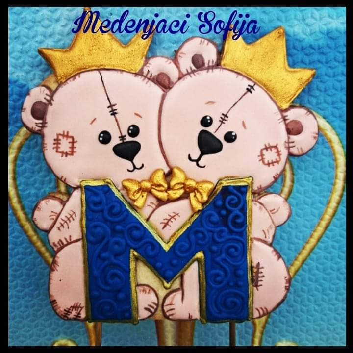 Twins Cake Topper