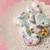 Flowerprint cookies