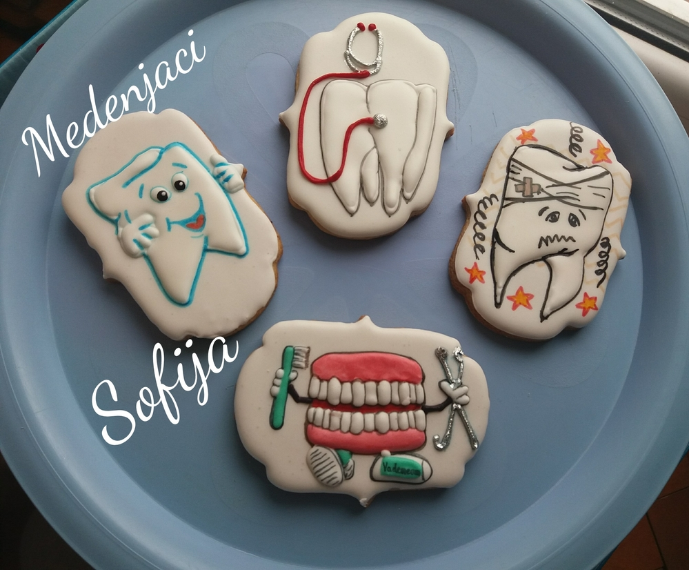 Cookies for dentist