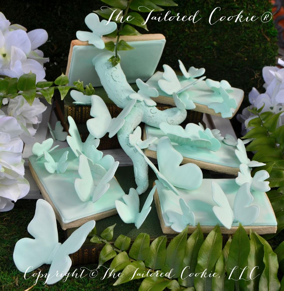 Butterflies in Secret Garden by The Tailored Cookie