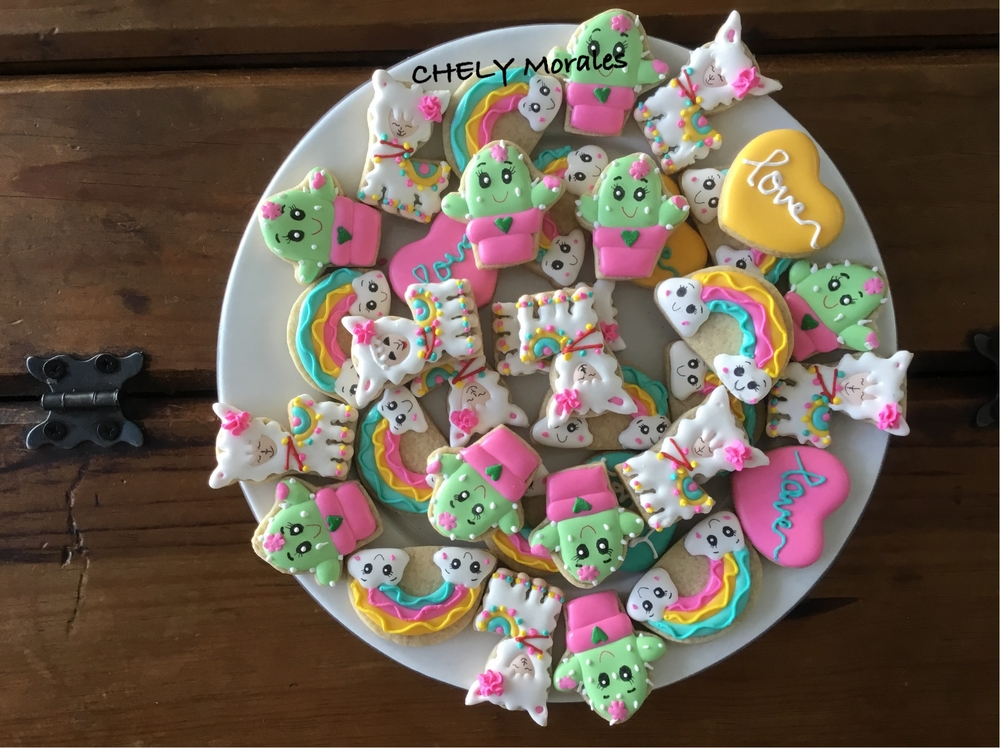 mini galletas Llamas!