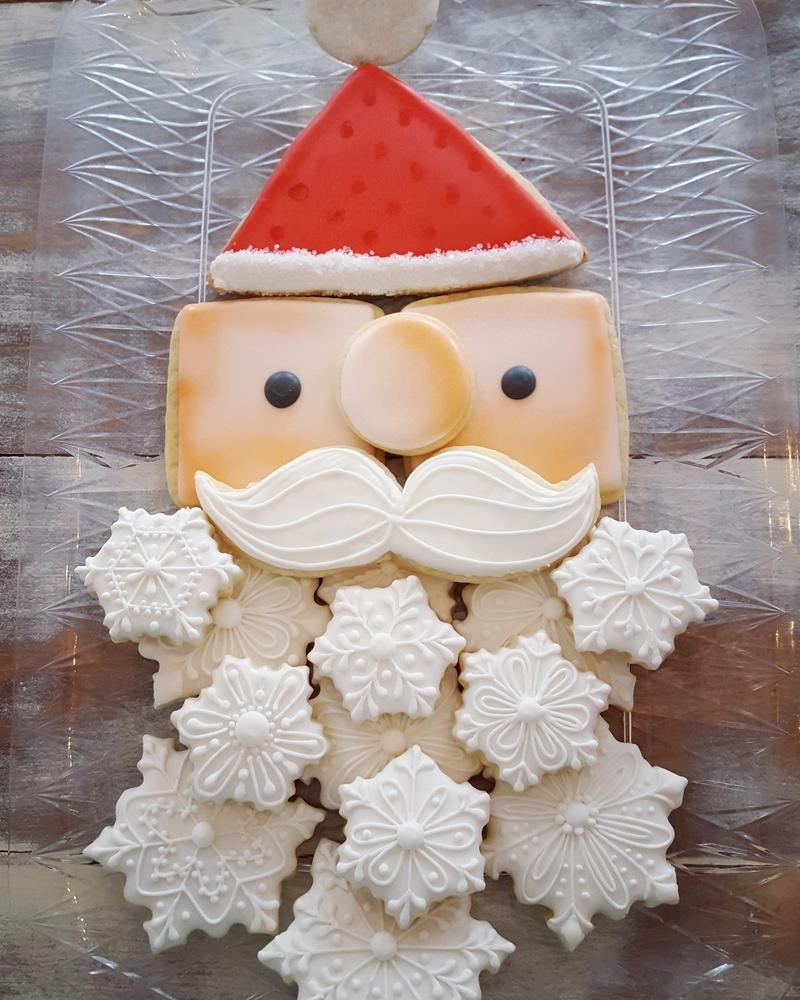 Santa Cookie Platter