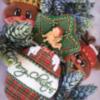 Merry Christmas reindeer, baby angel