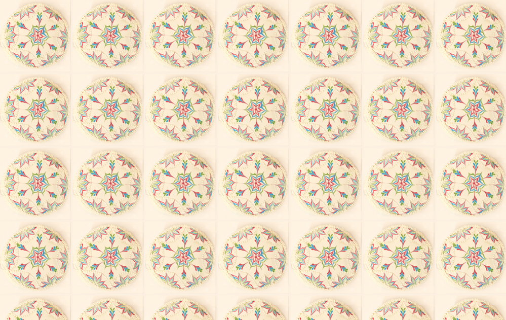 Wet-on-Wet Pattern Background