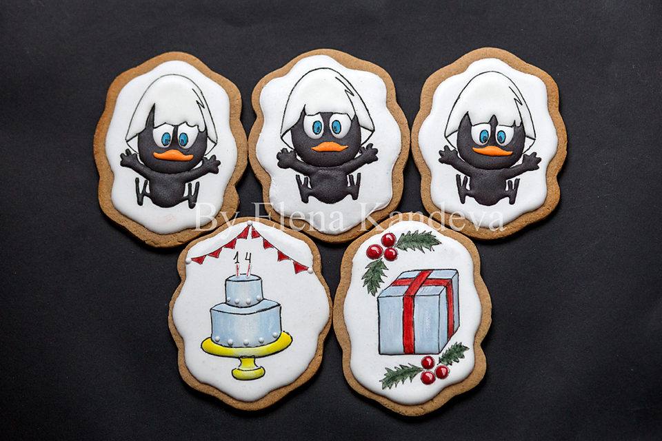 Kalimero, Birthday Cookies