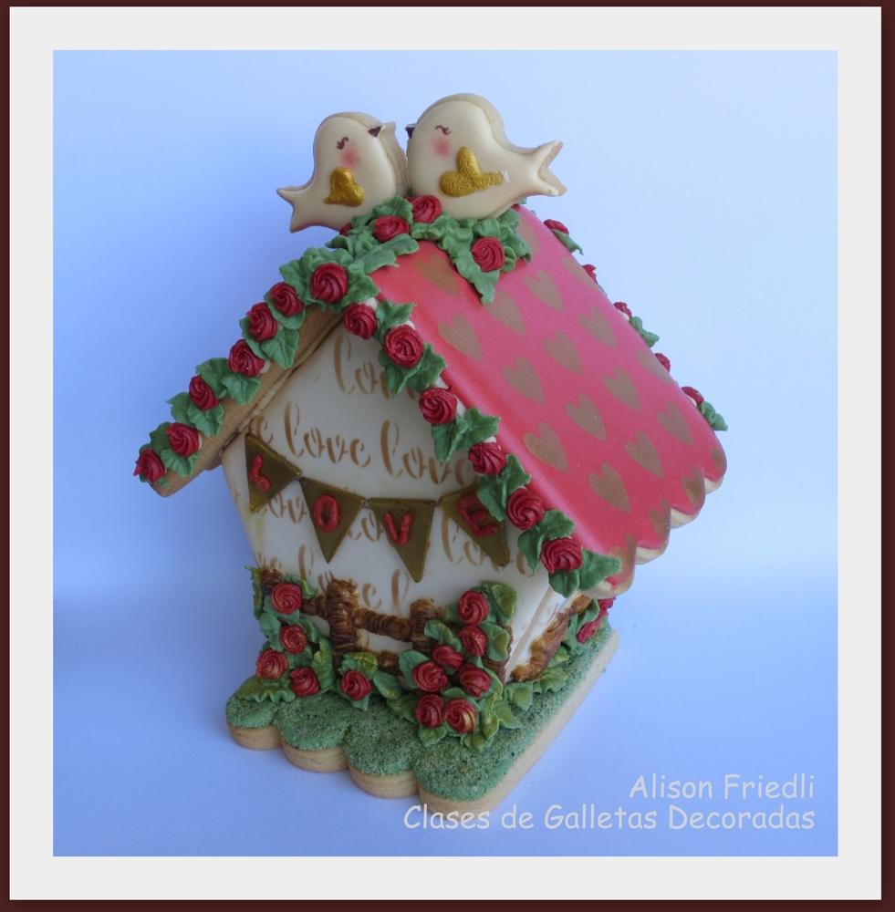Valentines Fairy House