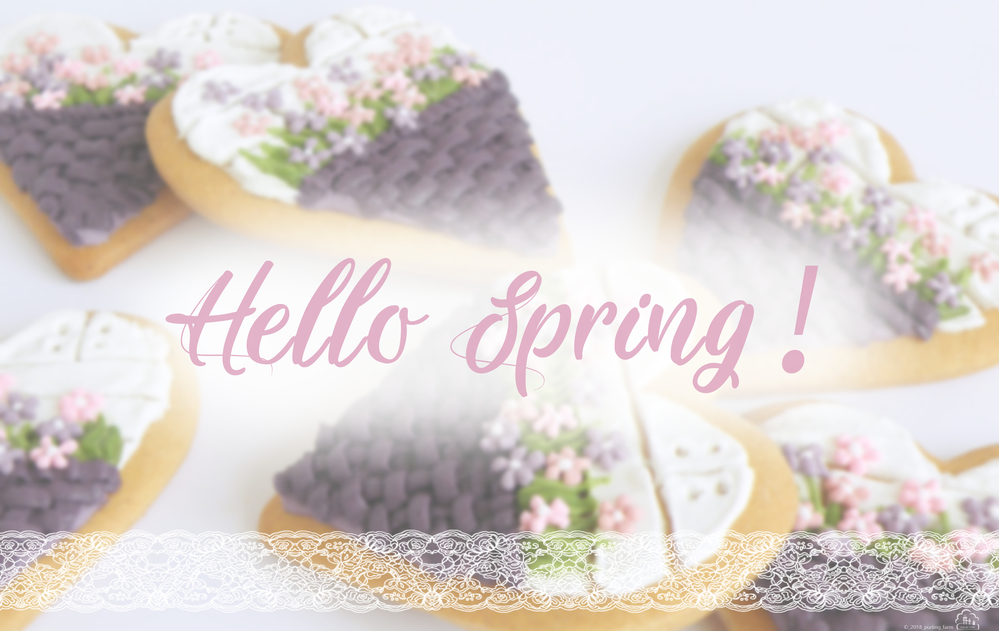 Hello Spring! - Background
