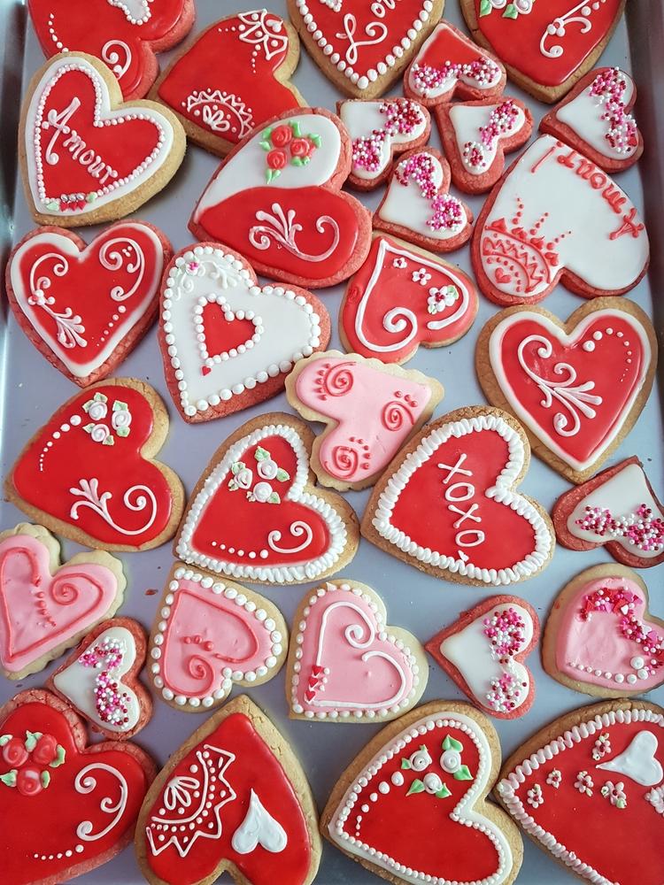 Valentine cookie explosion!!