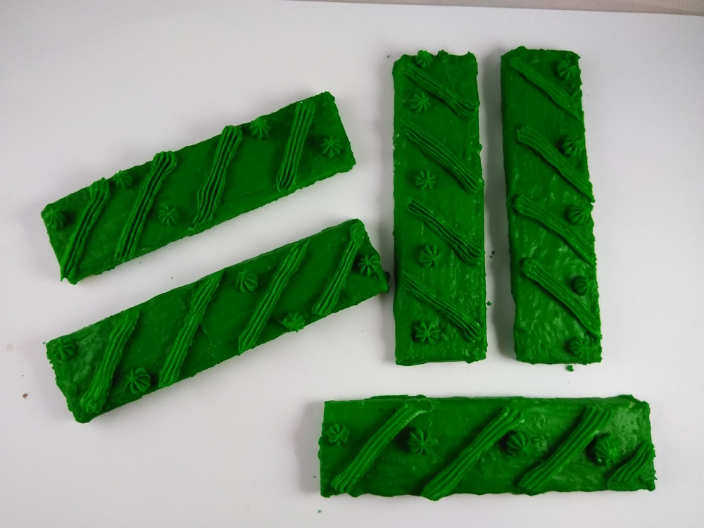 Several Firsts At Once: Green Bar Cookies