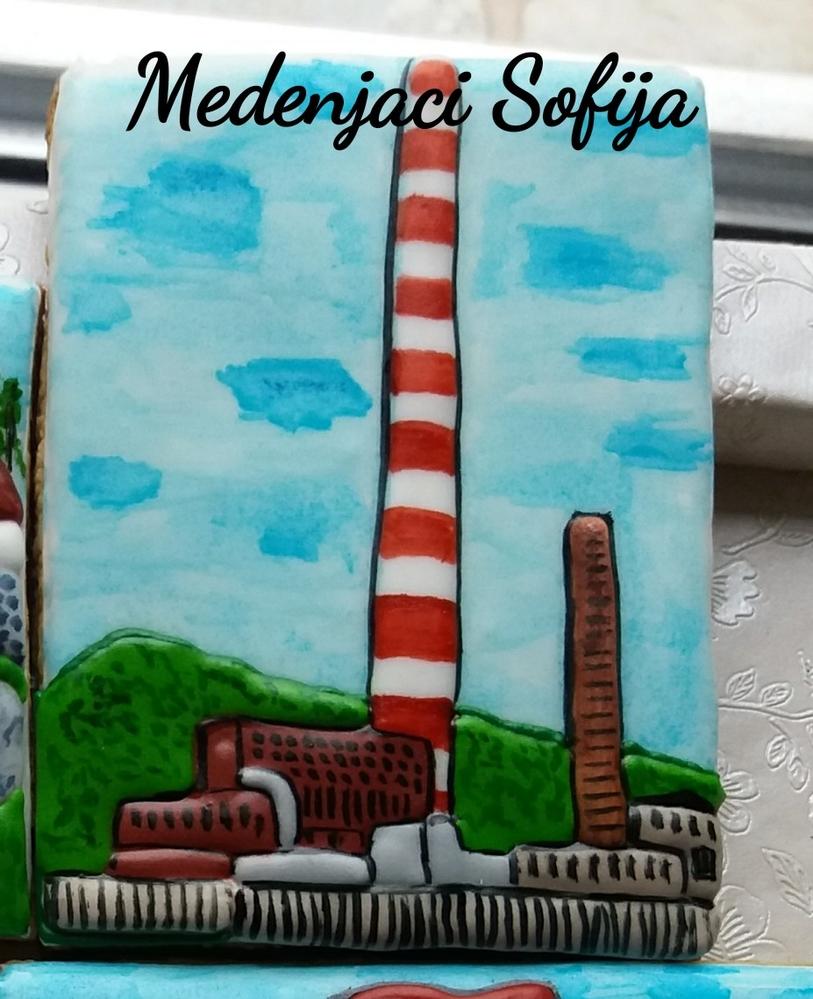 Chimney on mine factory Trepča