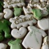 Handpainted baby shower cookies