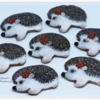 Christmas Hedgehog Girls