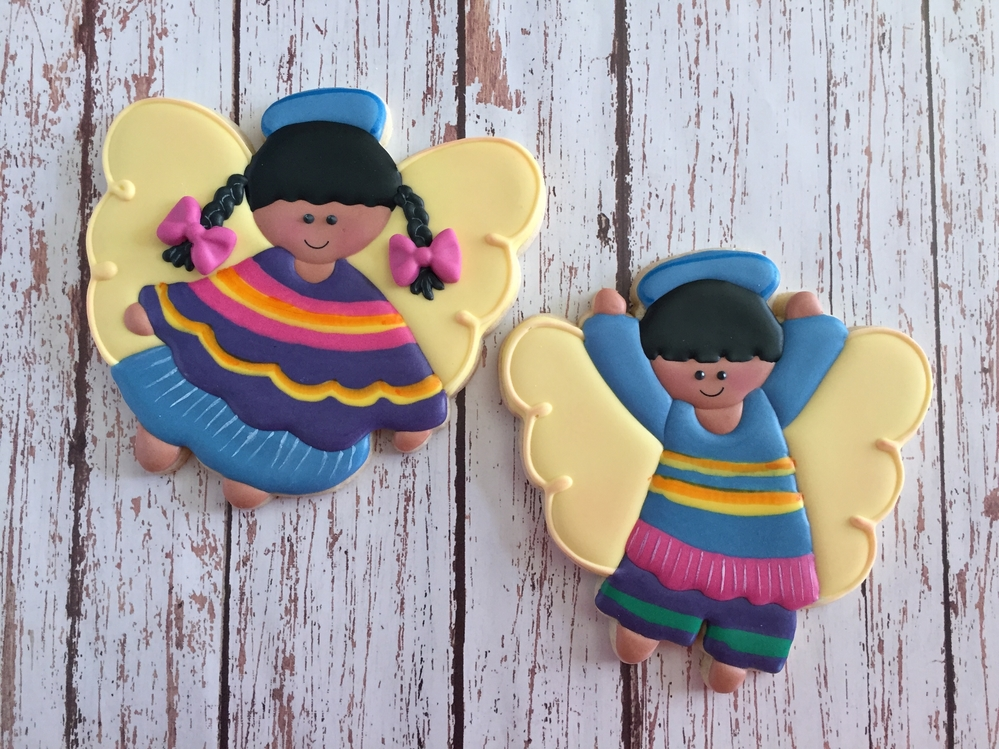 Mexican style angels