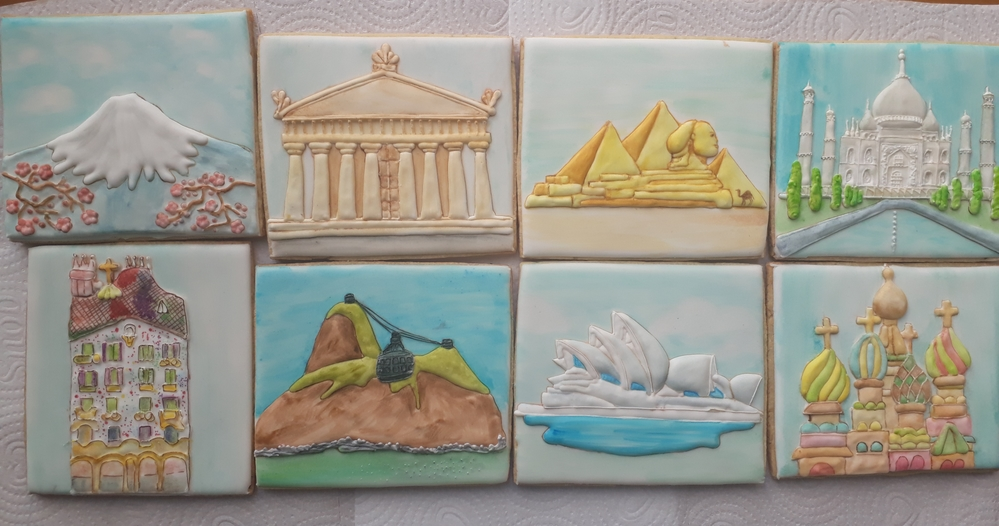 Around the World cookies