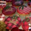 Cookie Christmas Spheres