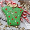How to Make a Simple Christmas Present Cookie by Emma's Sweets
