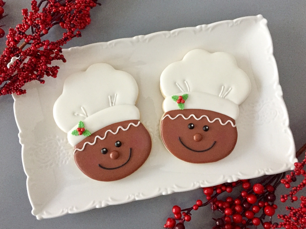 Gingerbread chef