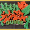 Gumby Cookies in Stop Motion - Video!