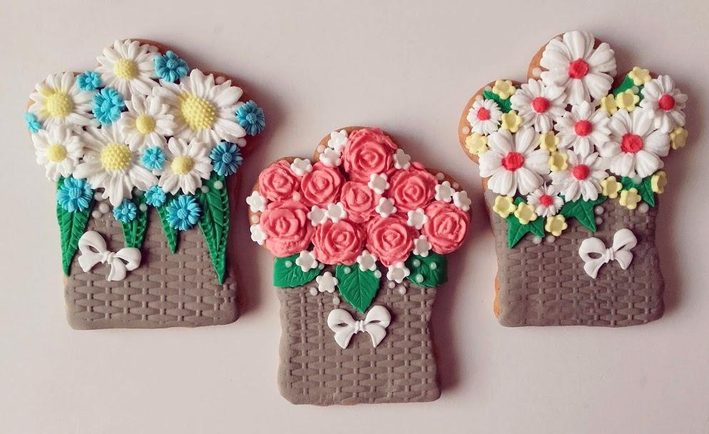 flower cookies.....buketi