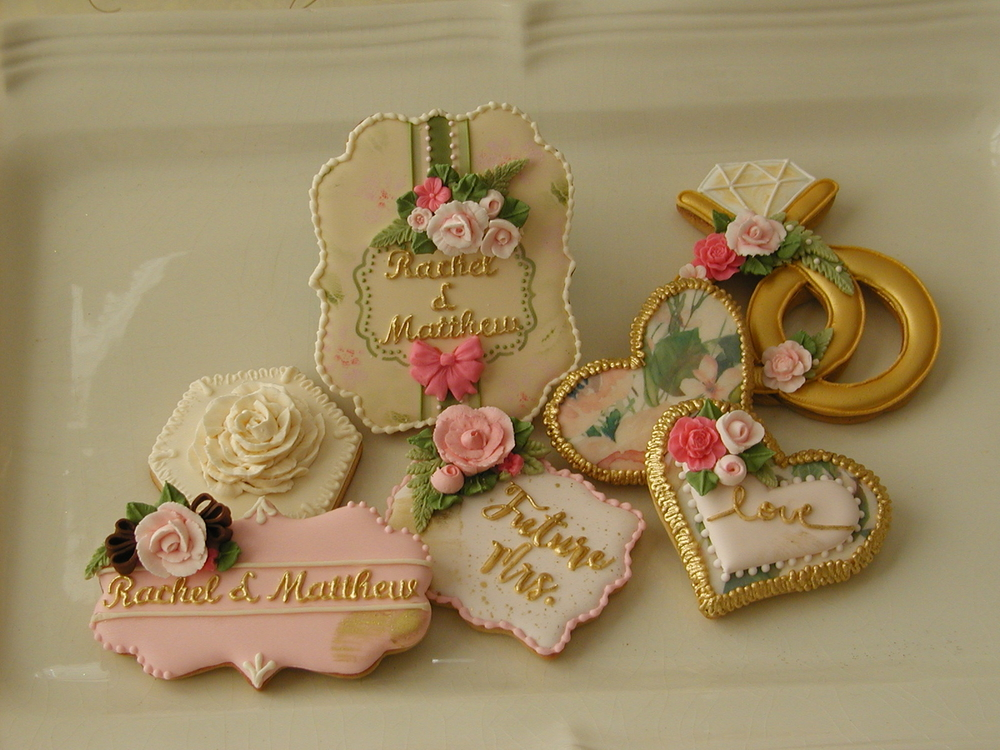 Showering the Bride with Cookies!