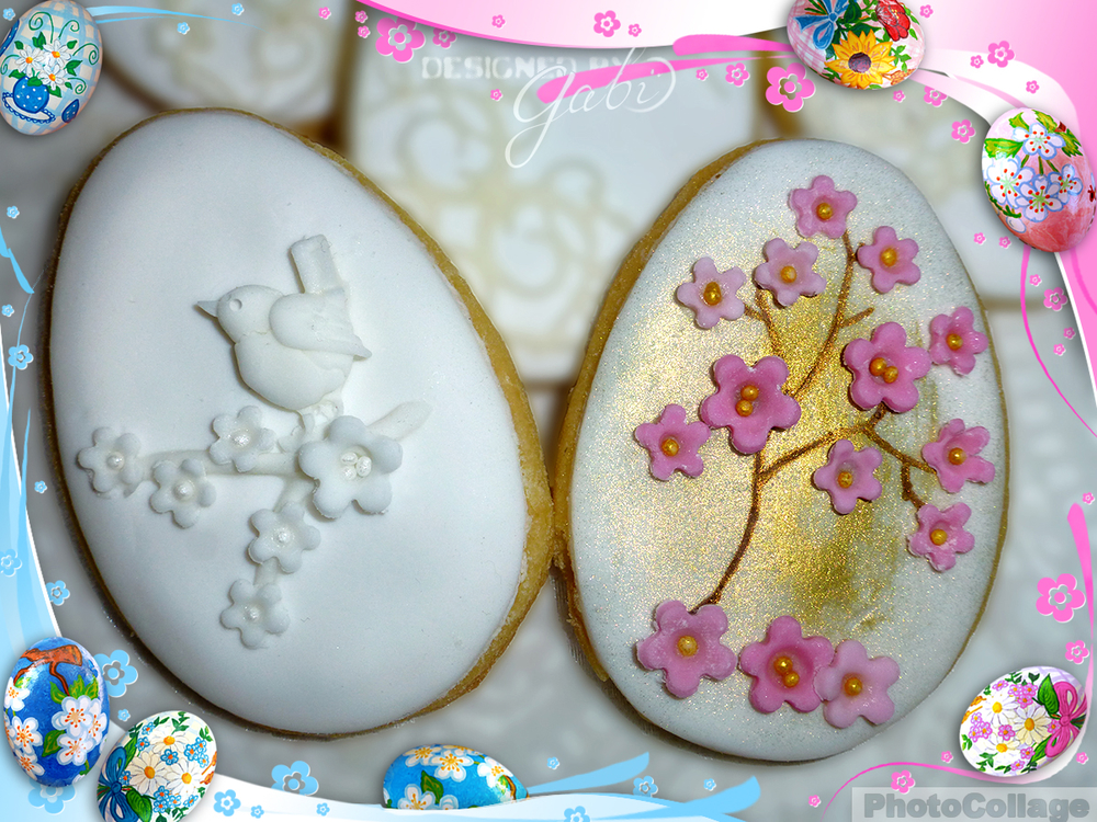 Simply easter egg cookies