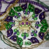 Mardi Gras Crown Platter