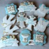 Boy Baptism/Christening Cookies