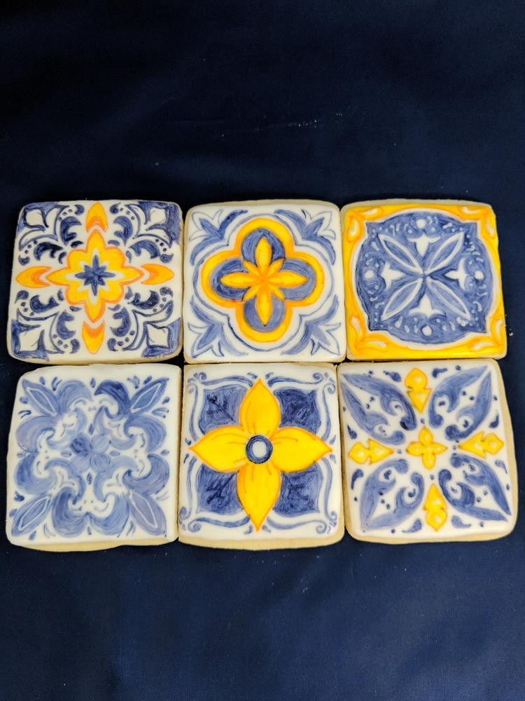 Spanish Tile Cookies