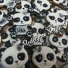 B-day panda cookies
