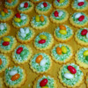 easter egg cookies: icingsugarkeks