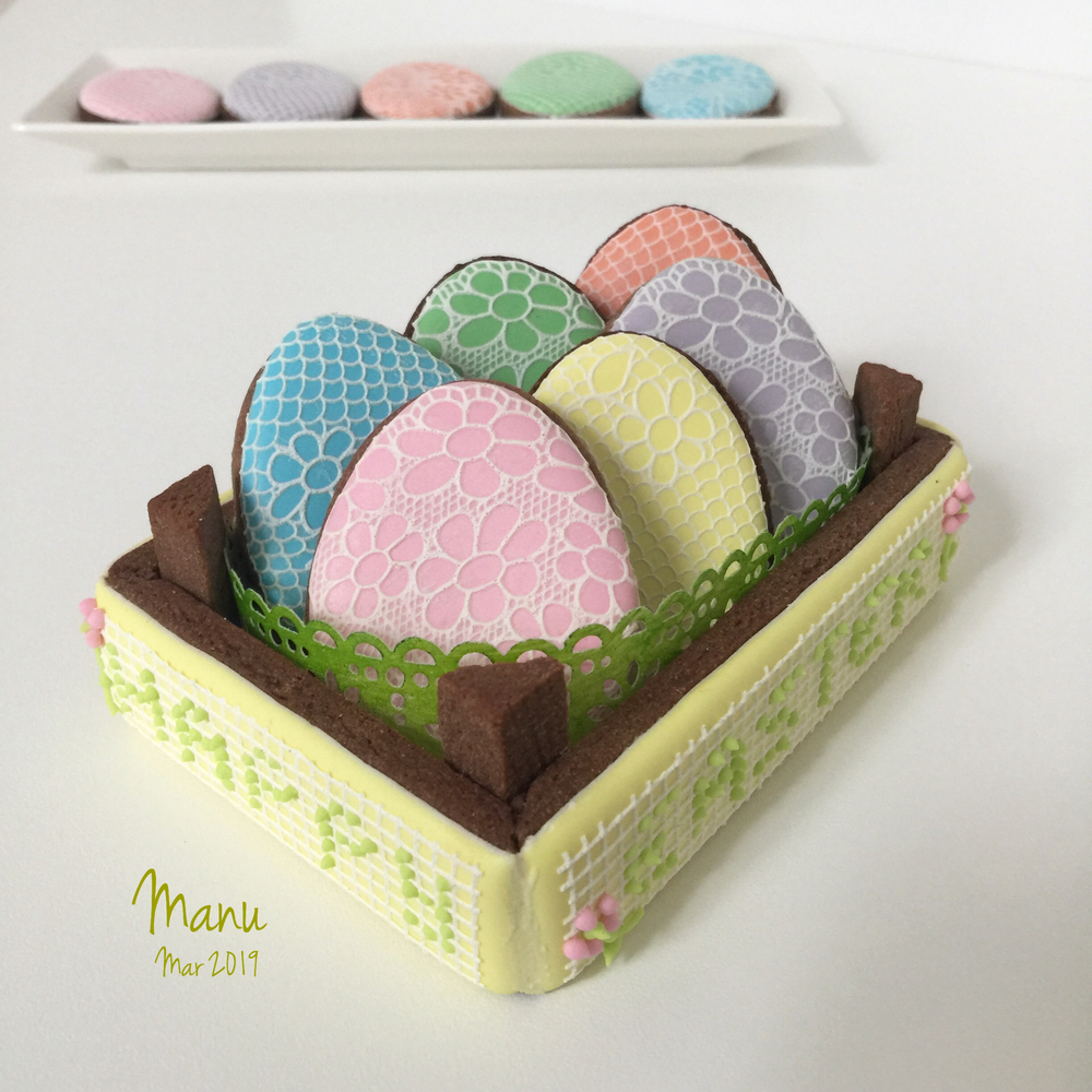 Easter Cookie Box 2019| Manu
