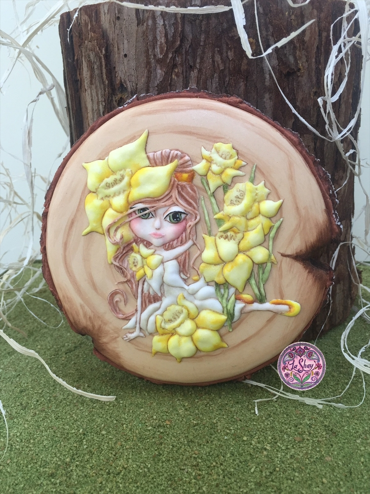Daffodil Fairy Cookie